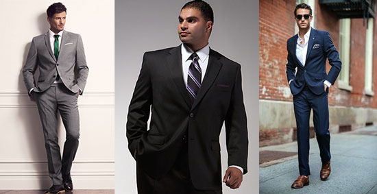The Skinny on Men's Suit Shopping