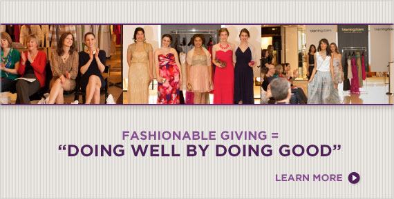 Fashionable Giving