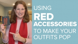 Using Red Accessories to Make Your Outfits Pop