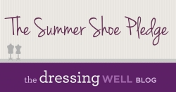 The Summer Shoe Pledge